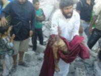 ABD Suriye'de Katliam Yaptı (+18)