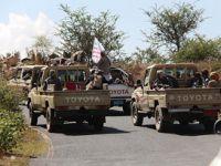 Ebyen'de Husilere Bombalı Saldırı Düzenlendi