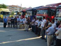 Amasya'dan Suriye Halkına  9 TIR Yardım
