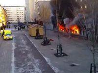 İsveç'te İslam Düşmanları Cami Yaktı