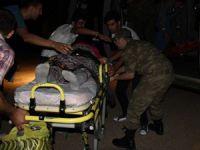 Hamile Kadını Hastaneye Götüren Askere Saldırı!