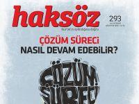 Haksöz Dergisinin Ağustos 2015 Sayısı Çıktı