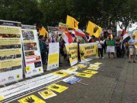 Dünya Rabia Günü'nde Sisi Cuntası Almanya'da Protesto Edildi