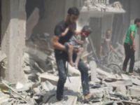 Esed Güçleri Doğu Guta'da Sivilleri Bombaladı: 21 Ölü