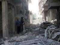 Esed Rejimi Yine Doğu Guta'da Sivilleri Hedef Aldı