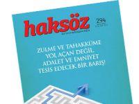 Haksöz Dergisinin Eylül 2015 Sayısı Çıktı!