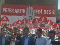 """Bölge """"Tek Ses Tek Yürek"""": PKK Silah Bıraksın!"""