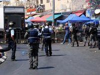 İsrail Aksa Yasağına Tepki Gösteren Filistinlilere Saldırdı