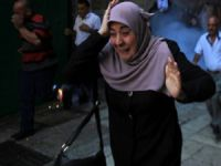 Filistinli Kadınlar, Mescid-i Aksa Yasağını Protesto Etti
