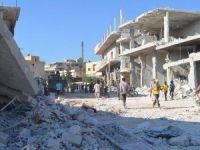 Bab ve Deyr Hafır'a Varil Bombalı Saldırı: 100 Ölü