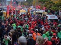 Belçika Hükümeti Protesto Edildi