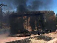 Hama'da Esed ve Rus Güçlerinin 25 Tankı Yok Edildi