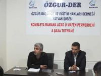 """Tatvan Özgür-Der'de """"Kur'an'da Sünnetullah"""" Semineri"""