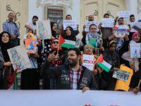 """Tunus'ta Filistin İçin """"Özgürlük Treni"""""""