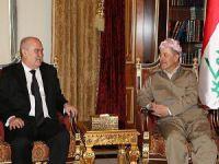 Sinirlioğlu, Barzani'yle Bir Araya Geldi