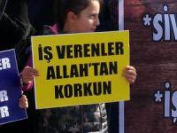 Sivas Özgür-Der'den Demir Çelik Fabrikası İşçilerine Destek