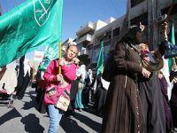 Ürdün Halkından Filistinlilere Destek