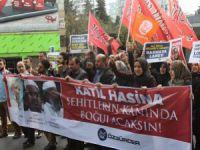 Ali İhsan Mücahid'in İdamı Protesto Edildi