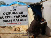 Un Kampanyasında İlk TIR Suriye'ye Ulaştı (FOTO)