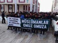 Üniversitelerdeki Sol Saldırganlık Van'da Protesto Edildi