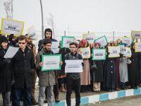 """Üniversitelerdeki """"Sol Saldırganlık"""" Muş'ta Protesto Edildi!"""