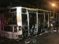 Gazi Mahallesi'nde Belediye Otobüsüne Saldırı!