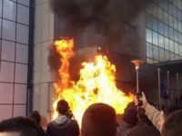 Kosova'da Hükümete Yönelik Olaylı Protestolar