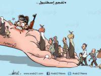 Filistinli Ressamdan Anlamlı Sultanahmet Karikatürü