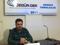 """Amasya Özgür-Der'de """"Lübnan Tarihi"""" Konuşuldu"""