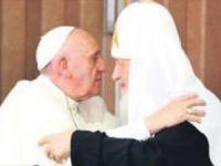 Papa ve Patrik 1000 Yıl Sonra Buluştu