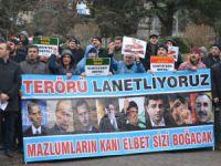 Yerel ve Küresel Terör Amasya'da Protesto Edildi