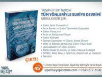 """Abdulkadir Şen'in """"Tüm Yönleriyle Suriye Devirimi"""" Kitabı Çıktı!"""