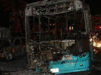 Halk Otobüsüne Molotofkokteylli Saldırı!