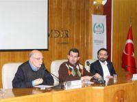"""Isparta'da """"Küresel Zulmün Kıskacında Suriye İntifadası"""" Paneli Gerçekleştirildi"""