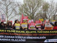 6. Yılında Suriye İntifadası İstanbul'da Selamlandı!