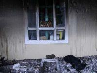 PKK'lılar Kullandıkları Okulu Ateşe Verdi
