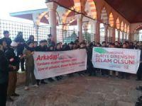 Gençlerden Suriye Direnişi ile Dayanışma Eylemi
