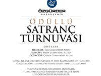 Başakşehir Özgür-Der'de Ödüllü Satranç Turnuvası