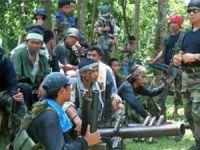 Filipinler'de Ebu Seyyaf Örgütü ile Ordu Birlikleri Arasında Çatışma