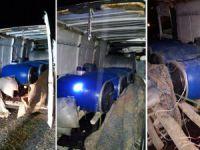 Mardin'de Patlayıcı Yüklü Minibüs Ele Geçirildi