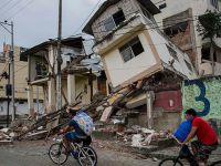 Ekvador'daki Depremlerde Hayatını Kaybedenlerin Sayısı 570'e Yükseldi