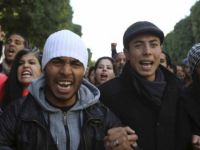 Tunus'ta Sisi Karşıtı Protesto