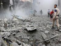 Esed Rejimi Halep'te Yerleşim Yerine Saldırdı!