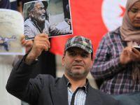 Tunus'ta Halep'e Destek Gösterisi