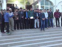 Rusya'nın Halep'teki Katliamları Gaziantep'te Protesto Edildi