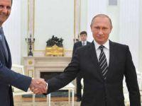 Esed'den Putin'e Teşekkür Mektubu