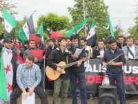 Halep'teki Katliamlar Sakarya Üniversitesinde Protesto Edildi