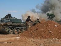 Direnişçiler Halep'te Yeni Bir Taarruz Başlattı