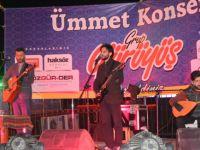 Amasya'da Grup Yürüyüş ve Ümmet Konseri Rüzgârı