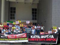 Siirt Üniversitesi'nde Halep Katliamı Protesto Edildi